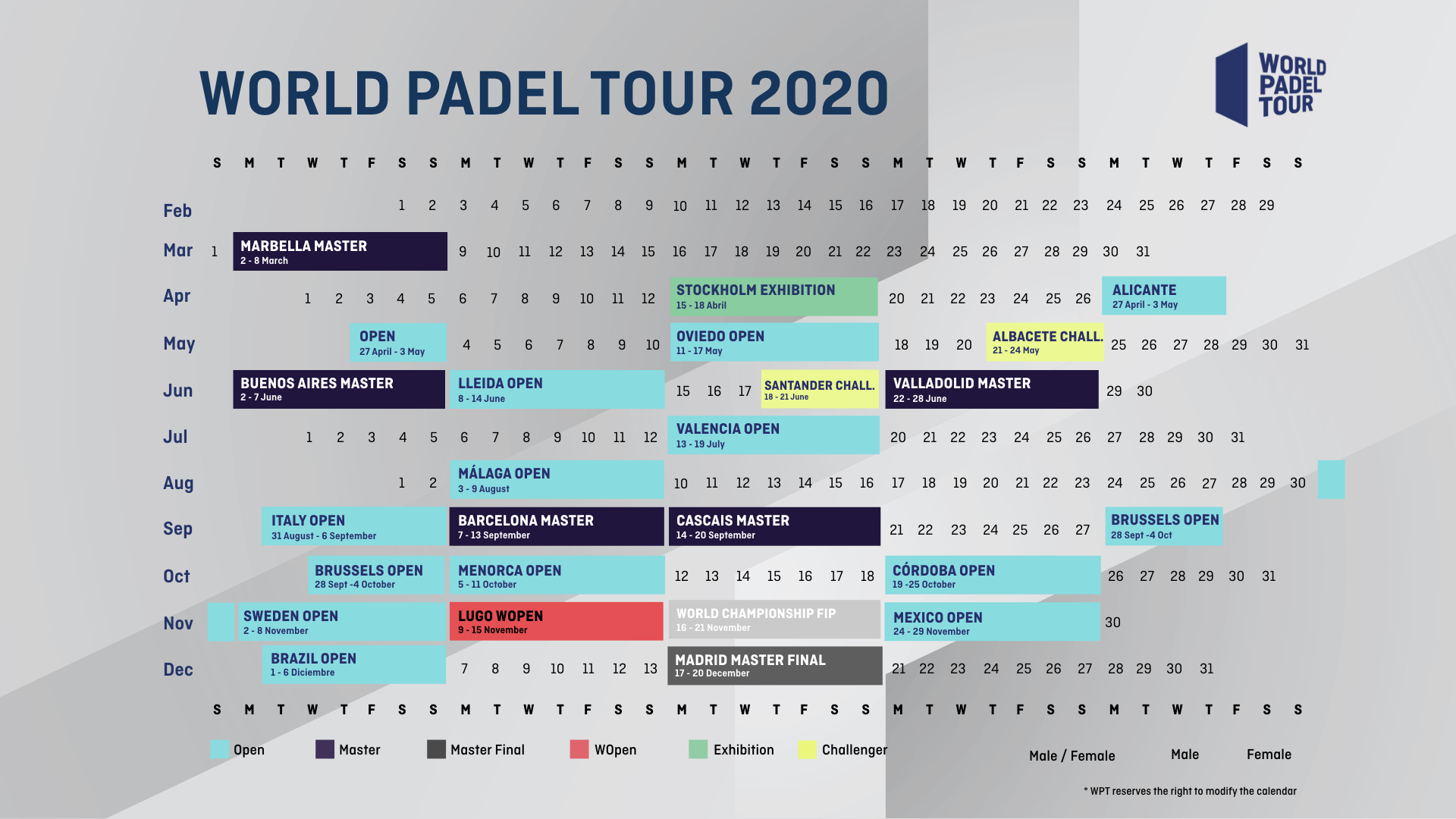 World Padel Tour 2020