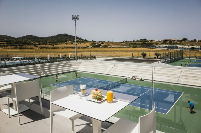 Nadal academy view