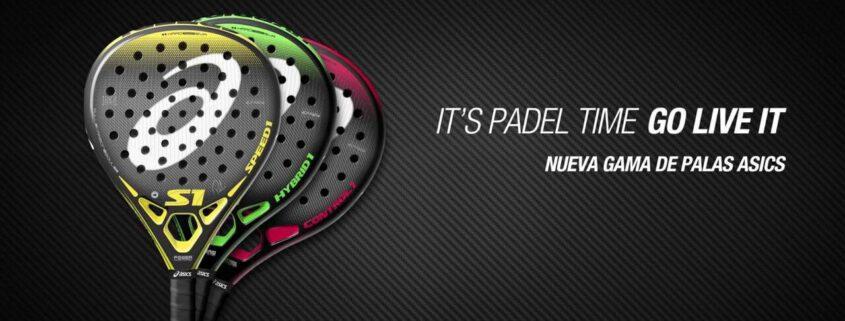 Asics padel rackets