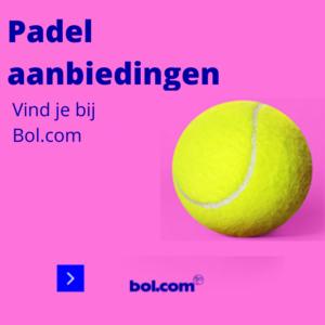 Bol.com Aanbiedingen padel