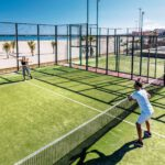 Padel in de hitte