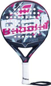 Babolat Reveal padel wit roze