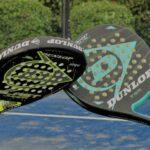 Het gatenpatroon van padel rackets